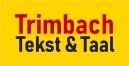 Trimbach Tekst & Taal logo in vlak RGB